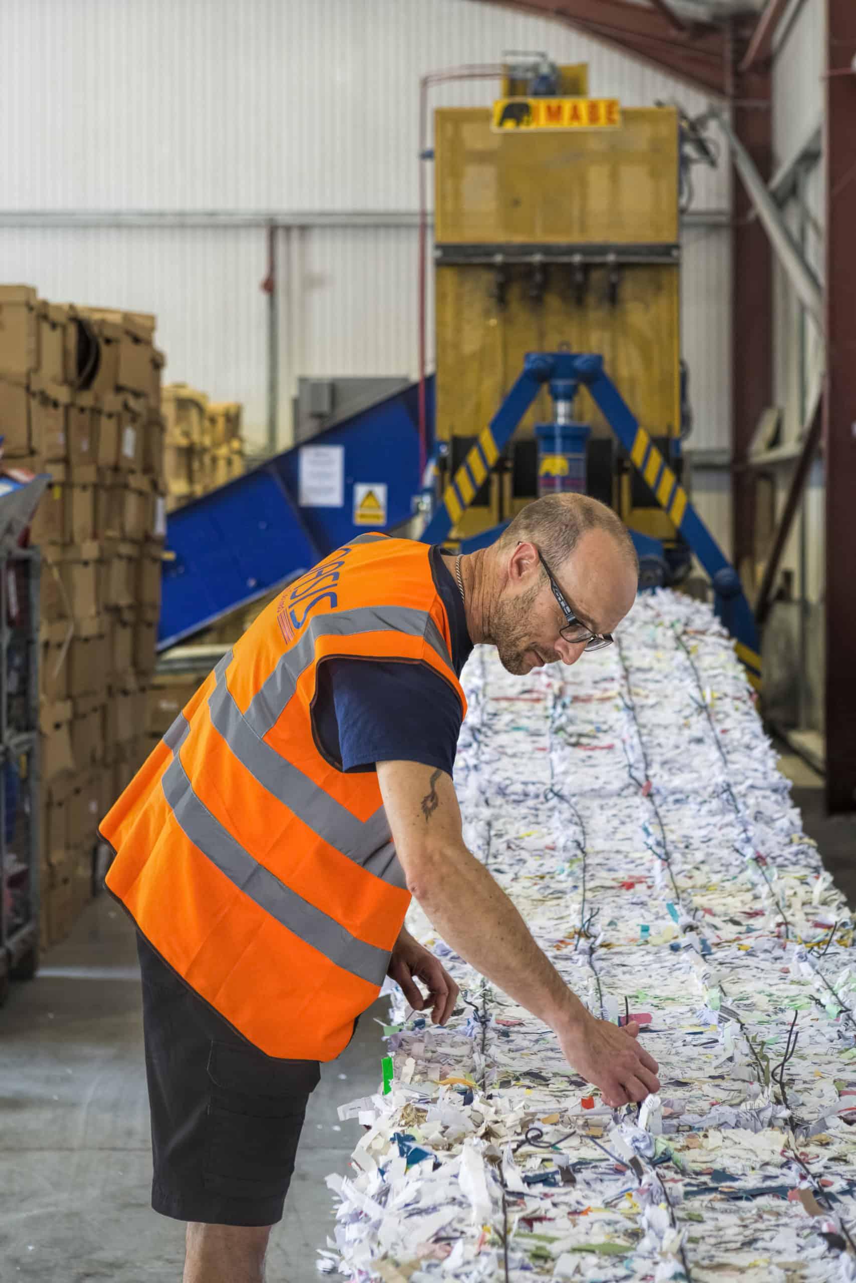 OASIS Group paper shredding
